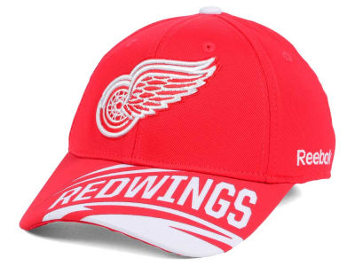 Detroit Red Wings Reebok NHL Left Wing Flex Cap