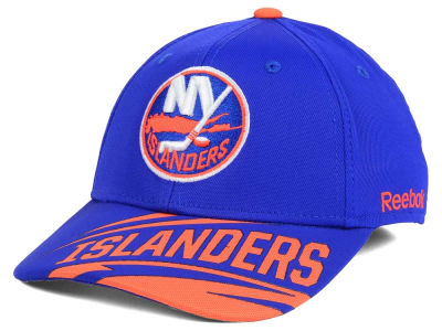 New York Islanders Reebok NHL Left Wing Flex Cap