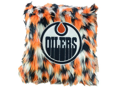 Edmonton Oilers Fluffy Pillow