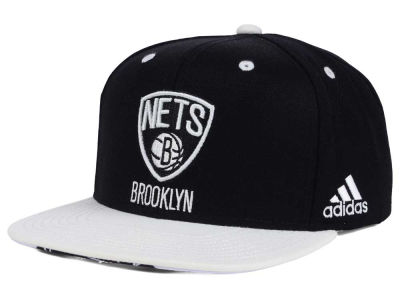Brooklyn Nets adidas NBA Courtside Snapback Cap