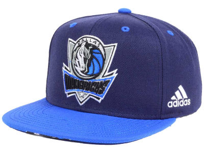 Dallas Mavericks adidas NBA Courtside Snapback Cap