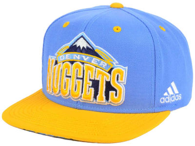 Denver Nuggets adidas NBA Courtside Snapback Cap