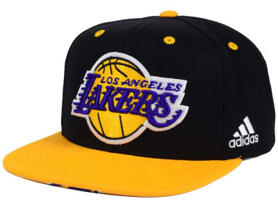 Los Angeles Lakers adidas NBA Courtside Snapback Cap