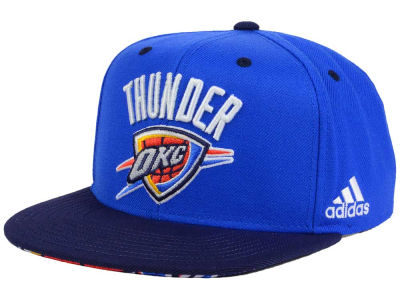 Oklahoma City Thunder adidas NBA Courtside Snapback Cap