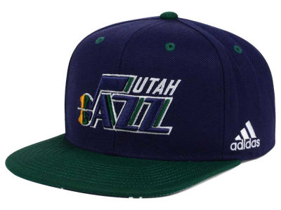 Utah Jazz adidas NBA Courtside Snapback Cap