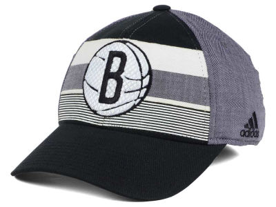 Brooklyn Nets adidas NBA Tri-Color Flex Cap