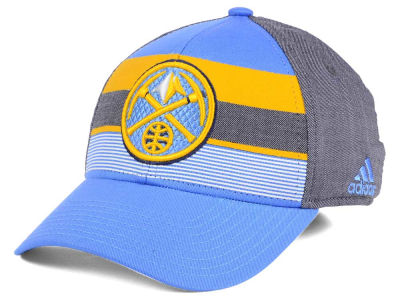 Denver Nuggets adidas NBA Tri-Color Flex Cap