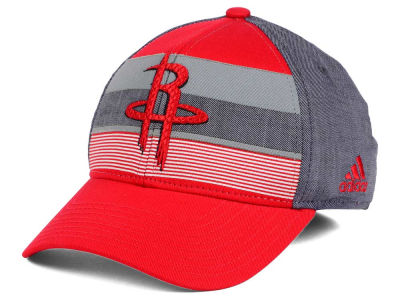 Houston Rockets adidas NBA Tri-Color Flex Cap