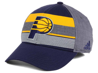 Indiana Pacers adidas NBA Tri-Color Flex Cap