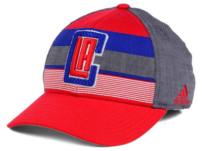 Los Angeles Clippers adidas NBA Tri-Color Flex Cap