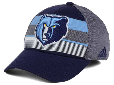 Memphis Grizzlies adidas NBA Tri-Color Flex Cap