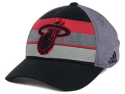 Miami Heat adidas NBA Tri-Color Flex Cap