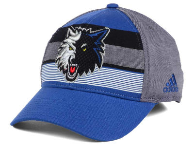 Minnesota Timberwolves adidas NBA Tri-Color Flex Cap