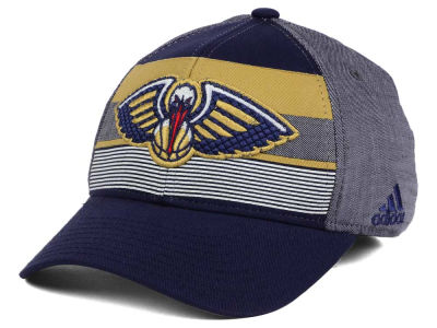 New Orleans Pelicans adidas NBA Tri-Color Flex Cap