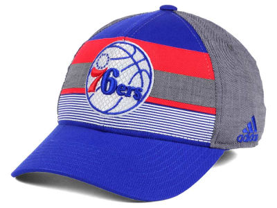 Philadelphia 76ers adidas NBA Tri-Color Flex Cap