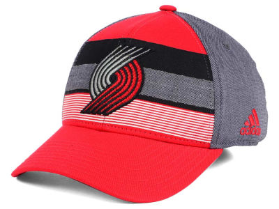 Portland Trail Blazers adidas NBA Tri-Color Flex Cap