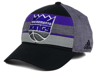 Sacramento Kings adidas NBA Tri-Color Flex Cap