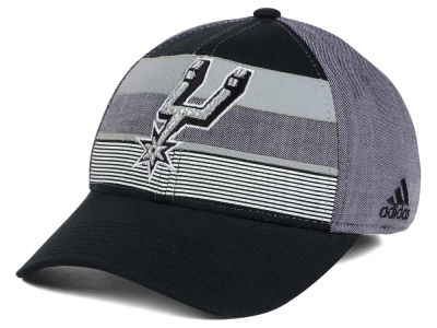 San Antonio Spurs adidas NBA Tri-Color Flex Cap