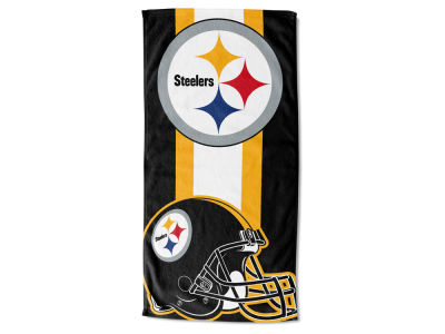 "Pittsburgh Steelers NFL 30x60 inch Beach Towel ""Zone Read"""
