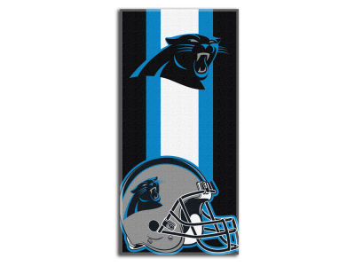 "Carolina Panthers NFL 30x60 inch Beach Towel ""Zone Read"""