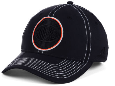 New York Knicks adidas NBA Black Color Pop Flex Cap