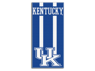 "Kentucky Wildcats College 30x60 inch Beach Towel ""Zone Read"""