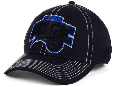 Orlando Magic adidas NBA Black Color Pop Flex Cap