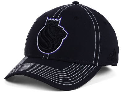 Sacramento Kings adidas NBA Black Color Pop Flex Cap