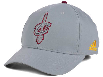 Cleveland Cavaliers adidas NBA Gray Color Pop Flex Cap