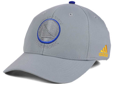 Golden State Warriors adidas NBA Gray Color Pop Flex Cap