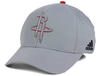 Houston Rockets adidas NBA Gray Color Pop Flex Cap