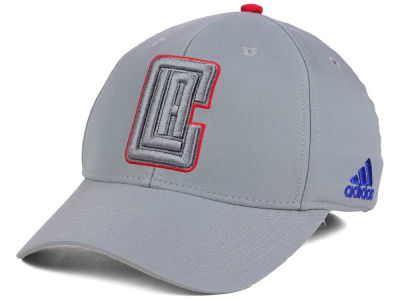 Los Angeles Clippers adidas NBA Gray Color Pop Flex Cap