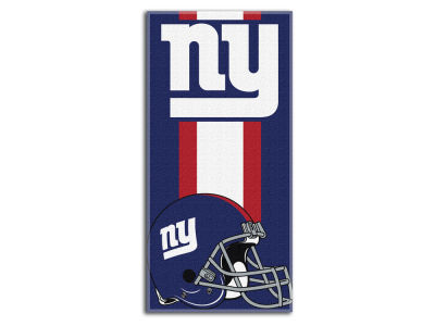 "New York Giants College 30x60 inch Beach Towel ""Zone Read"""