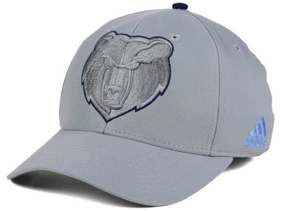 Memphis Grizzlies adidas NBA Gray Color Pop Flex Cap