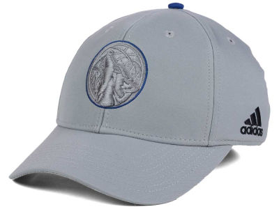Minnesota Timberwolves adidas NBA Gray Color Pop Flex Cap
