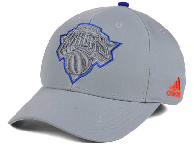 New York Knicks adidas NBA Gray Color Pop Flex Cap
