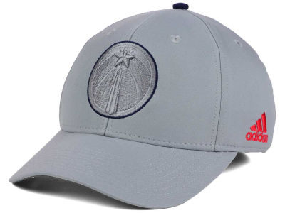 Washington Wizards adidas NBA Gray Color Pop Flex Cap