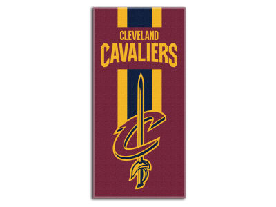 "Cleveland Cavaliers College 30x60 inch Beach Towel ""Zone Read"""