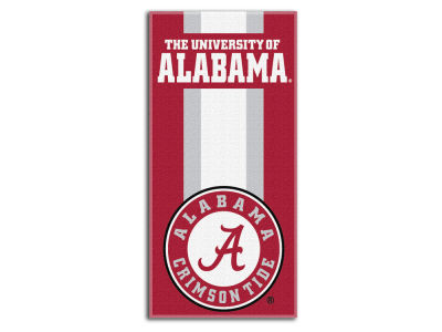 "Alabama Crimson Tide College 30x60 inch Beach Towel ""Zone Read"""