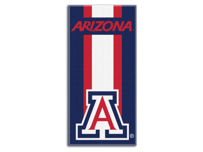 "Arizona Wildcats College 30x60 inch Beach Towel ""Zone Read"""