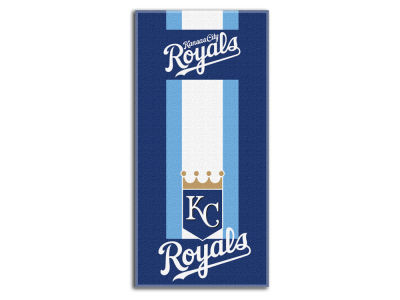 "Kansas City Royals College 30x60 inch Beach Towel ""Zone Read"""