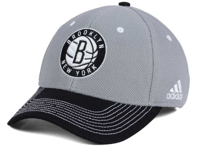 Brooklyn Nets adidas NBA Duel Logo Flex Cap