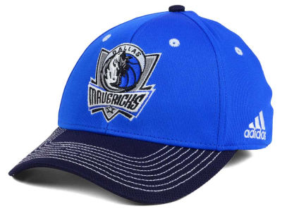 Dallas Mavericks adidas NBA Duel Logo Flex Cap