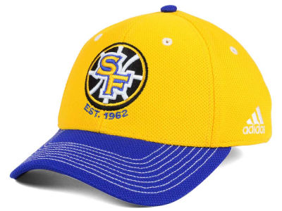 Golden State Warriors adidas NBA Duel Logo Flex Cap