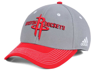 Houston Rockets adidas NBA Duel Logo Flex Cap
