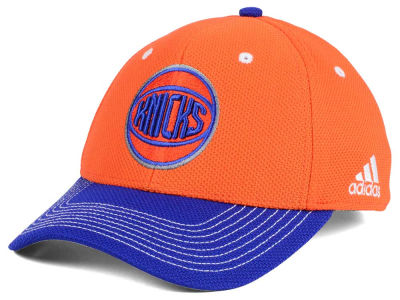 New York Knicks adidas NBA Duel Logo Flex Cap