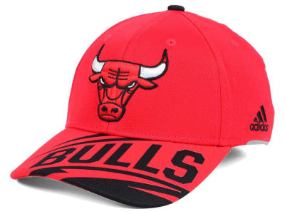 Chicago Bulls adidas NBA Layup Flex Cap