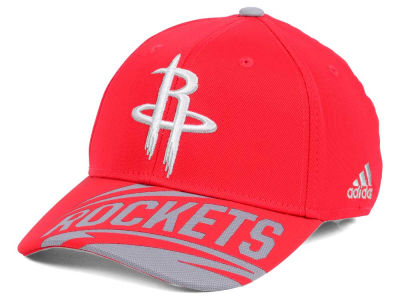 Houston Rockets adidas NBA Layup Flex Cap