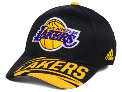 Los Angeles Lakers adidas NBA Layup Flex Cap