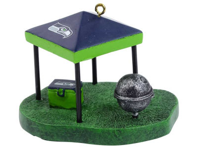 Seattle Seahawks Tailgate Tent Ornament